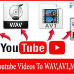 Convert YouTube videos to WAV, MP4, AVI Online