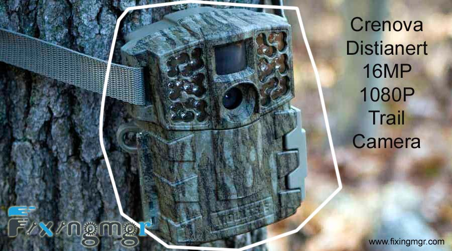 Crenova Distianert 16MP 1080P Trail Camera